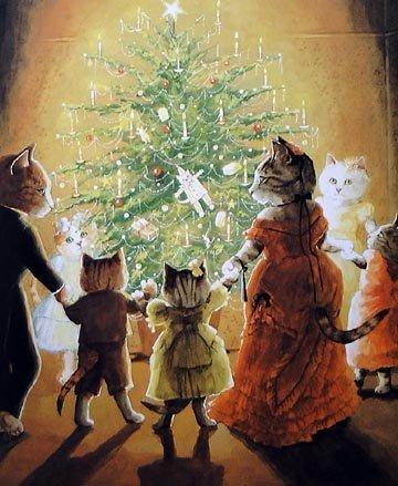 catsatchristmas1