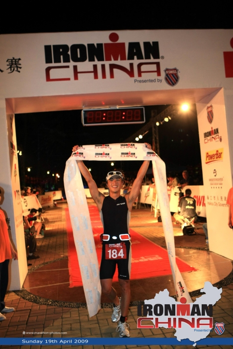 Hypercat athlete Steve Fung finishes his first Ironman!